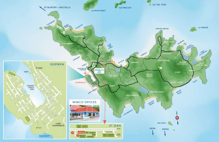 St Barths Map | Travel Map of St Barthelemy | WIMCO Villas on jordan road map, india road map, russia road map, western hemisphere road map, vietnam road map, montserrat road map, brazil road map, nigeria road map, palau road map, st john usvi road map, nevis road map, rotterdam road map, saint croix road map, denmark road map, japan road map, french guiana road map, iran road map, taiwan road map, ascension island road map, trinidad and tobago road map,
