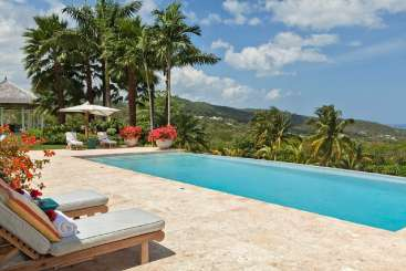 Jamaica Villa with Staff Point of View at Tryall